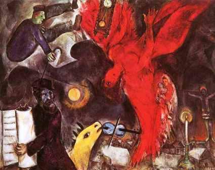 M. Chagall -  La caduta dell'angelo