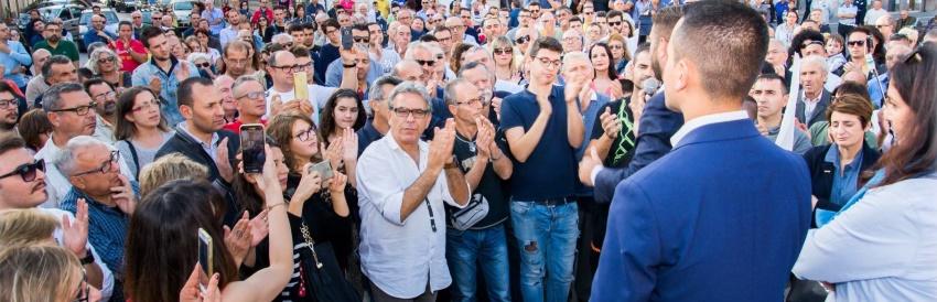 #SceglieteilFuturo Tour a Francofonte SR - Con Giancarlo Cancelleri e Luigi Di Maio