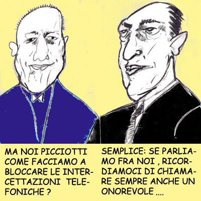 Da www.girodivite.it/Intercettazioni.html  Vignetta di Molly Bezz