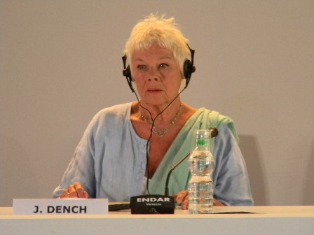 Judy Dench, attrice protagonista in Philomena