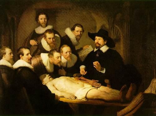 37 Lezione di anatomia del dottor Tulp