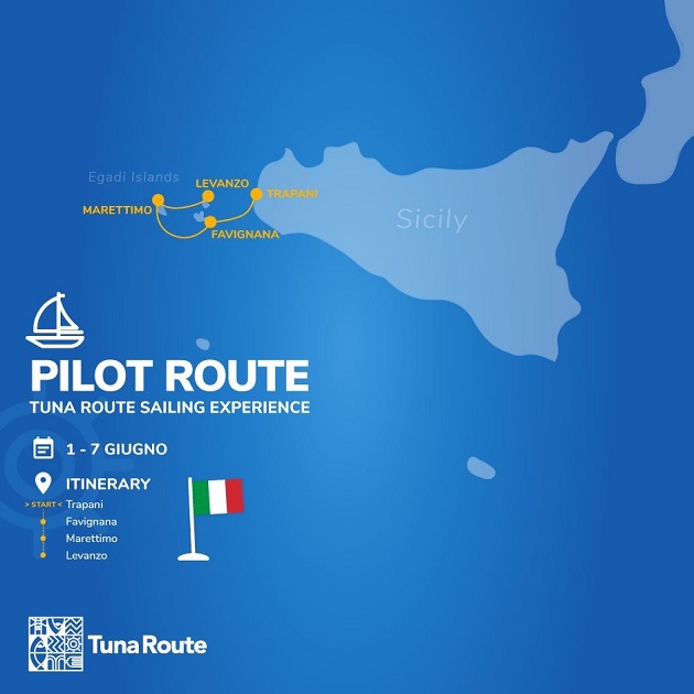 Pilot route percorso